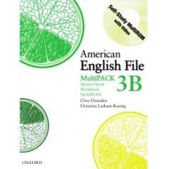 American English File 3B Student Book - Workbook