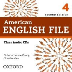 American English File 4 2nd Edition Class Audio CD1