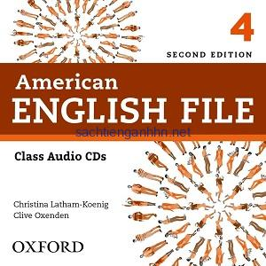 American English File 4 2nd Edition Class Audio CD4