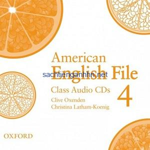 American English File 4 Class Audio CD4