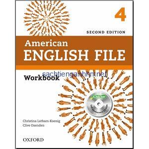 American English File 4 Workbook 2nd Edition