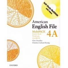 American English File 4A Student Book - Workbook