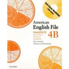 American English File 4B Student Book - Workbook