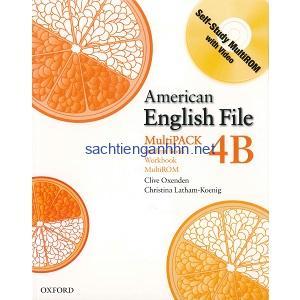 American English File 4B Student Book – Workbook