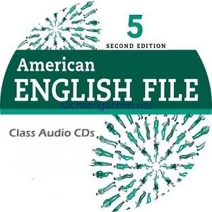 American English File 5 2nd Edition Class Audio CD5