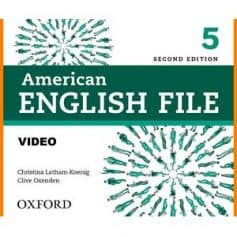 American English File 5 Workbook 2ndEd Video CD