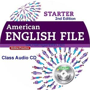 American English File Starter 2nd Edition Class Audio CD1