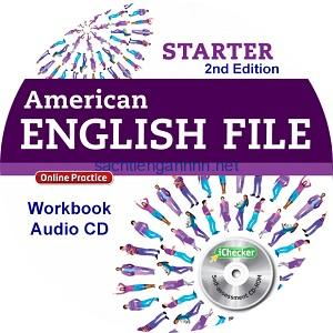 American English File Starter 2nd Edition Workbook Audio CD