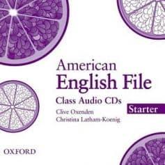 American English File Starter Class Audio CD