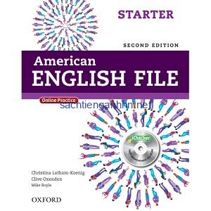 American English File Starter Student Book 2nd Edition