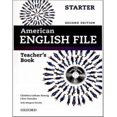 American English File Starter Teacher Book 2nd Edition