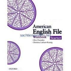 American English File Starter Workbook