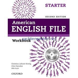 American English File Starter Workbook 2nd Edition