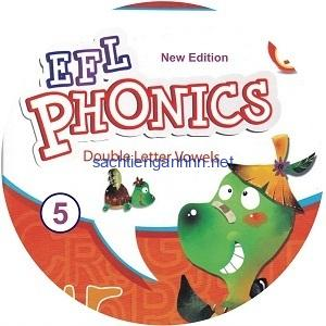 New EFL Phonics 5 Double Letter Vowels Audio CD