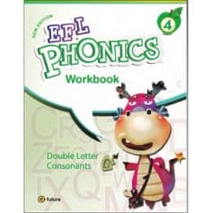 New EFL Phonics 4 Double Letter Consonants Workbook