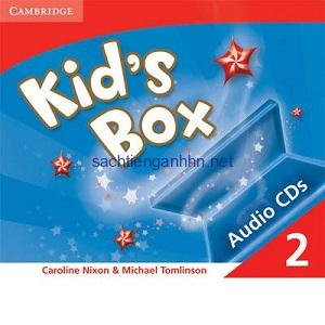 Kid's Box 2 Class Audio CD1