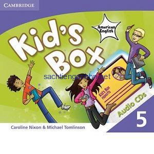 Kid's Box 5 Class Audio CD3
