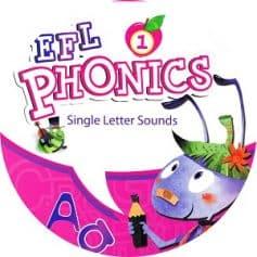 New EFL Phonics 1 Single Letter Sounds Audio CD