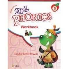 New EFL Phonics 5 Double Letter Vowels Workbook