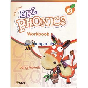 New EFL Phonics 3 Long Vowels Workbook