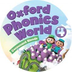 Oxford Phonics World 4 Class Audio CD2