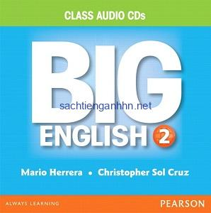 Big English (American English) 2 Class Audio CD B