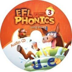 EFL Phonics 3 Long Vowels 3rd Audio CD