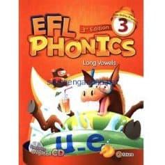 EFL Phonics 3 Long Vowels Student Book Workbook 3rd Edition