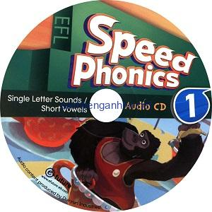 Speed Phonics 1 Audio CD Single Letter Sounds/ Short Vowels