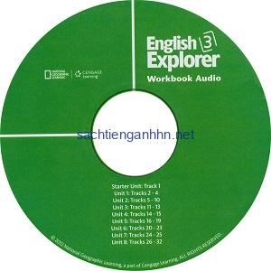 English Explorer 3 Workbook Audio CD