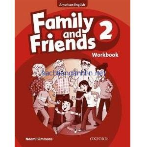 Family and Friends 2 Workbook American English
