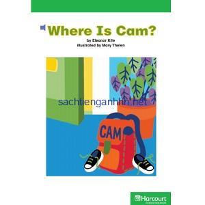Harcourt School Publishers Kindergarten - Where Is Cam