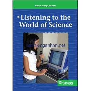 Math Concept Reader - G6 - Listening to the World of Science