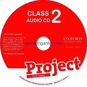 Project 2 3rd Edition Class Audio CD