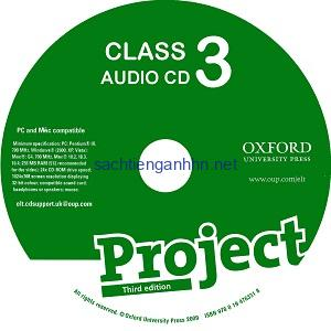 Project 3 3rd Edition Class Audio CD