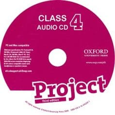 Project 4 3rd Edition Class Audio CD