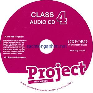 Project 4 3rd Edition Class Audio CD 1