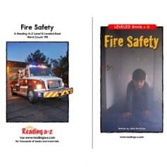 Reading A-Z Level G- Fire Safety