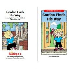 Reading A-Z Level G- Gordon Finds His way