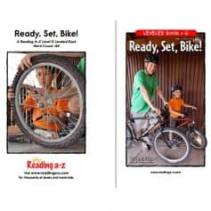Reading A-Z Level G- Ready, Set, Bike