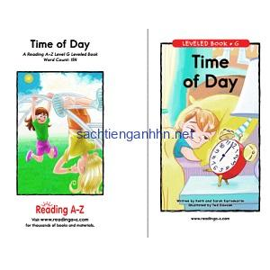 Reading A-Z Level G- Time of Day