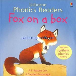 Usborne Phonics Readers - Fox on a box