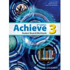 Achieve 3 Student Book Workbook 2nd Edition