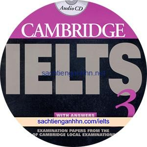 Cambridge IELTS 3 Class Audio CD