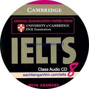 Cambridge IELTS 8 Class Audio CD