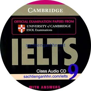 Cambridge IELTS 9 Class Audio CD