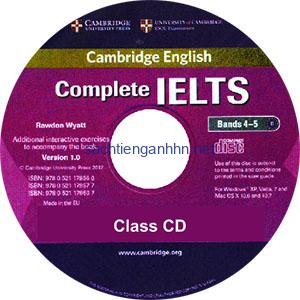 Complete IELTS Bands 4-5 Class Audio CD 1