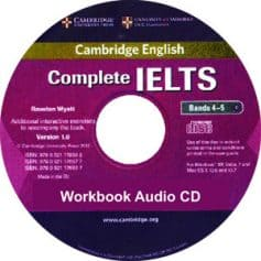 Complete IELTS Bands 4-5 Workbook Audio CD