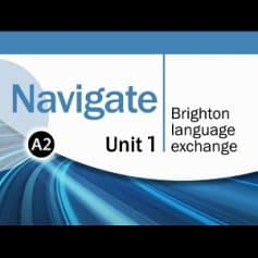 Navigate Elementary A2 Coursebook Video DVD