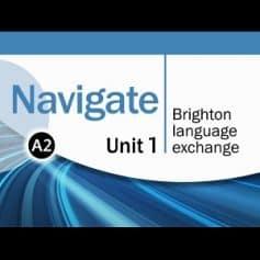 Navigate Elementary A2 Coursebook Video DVD